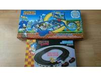 For Sale - 2 x Sonic the Hedgehog Board Games - Pinball and Scaelextric