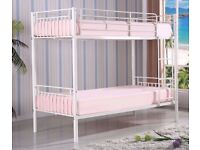 ★★ 20% DISCOUNT★★ NEW SINGLE METAL BUNK BED ★★THAT SPLITS INTO 2 SINGLE BEDS
