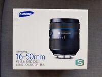 NEW Samsung NX 16-50mm F2-2.8 S ED OIS Premium S Zoom Lens