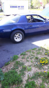 86 Firebird Tons Of HP Loads Of Work $6500 Today Only Firm !!!!