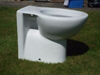 New back to the wall toilet pan