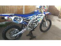 Yamaha yzf 250 low hours motocross bike not 450 125 Kxf Ktm yz crf
