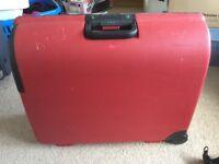 Carlton Hard Body Suitcase Red