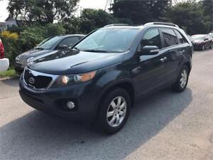 2011 Kia Sorento LX, Safety & ETEST for ON or QC INCL.
