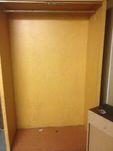 Wardrobe unit solid wood