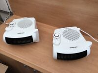2 x Goodmans 2kw heater fans for sale