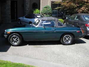 Beautiful 1977 MGB Roadster