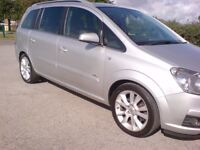 VAUXHALL ZAFIRA DESIGN, 6 SPEED, (2006) IMMACULATE CONDITION,7 SEATER