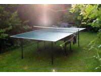 BUTTERFLY Home Rollaway Indoor Folding Table Tennis Table