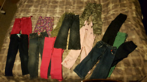 Over 30 clothing items. Size 4-5 girls