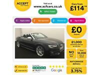 Audi S5 S Tronic FROM £144 PER WEEK!