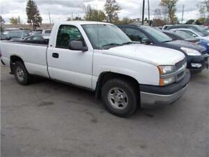 2004 Chevrolet Silverado 1500 8 FOOT BOX RUNS GREAT AS-IS