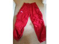 Retro/funky UFO parachute trousers. S/M. Unisex