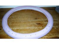 Used Pink Steering Wheel Cover