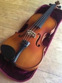 Prima Loreato VF037 Violin 4/4 size with primavera case and extras