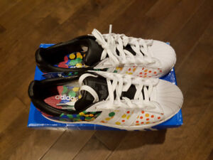 Adidas superstar pride pack shoes