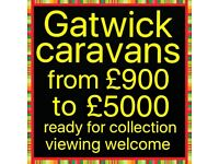 Caravans from £900 to £5000 Sunday special £100 off