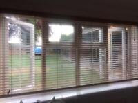 Large 8ft Wooden slat blinds