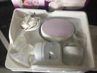 Avent Electric Breastpump LIKE NEW + free milk storage bags