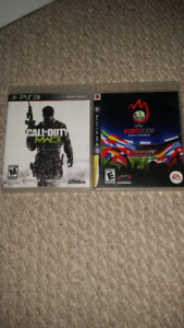 Selling *Call of duty MW3* & *Euro2008* for PS3₩