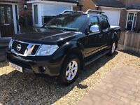 Nissan Navara Tekna DCI 2013 with 63k Sat nav, air con, cruise control, leather seats, tow bar.