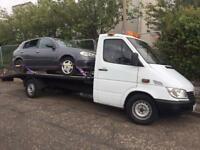 24/7 Recovery/breakdown & vehicle uplift service/vehicle disposal salvage