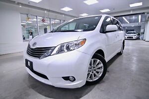 2014 Toyota Sienna XLE AWD, ORIGINAL RHT VEHICLE, ONE OWNER, CLE