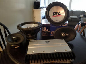 MTX Speakers, JL Audio amp, Alpine CD changer