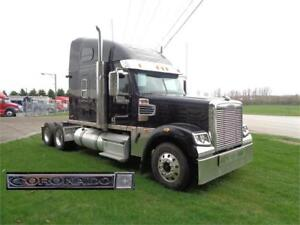 2014 FREIGHTLINER CORONADO 132 EXTENDED HOOD, FULLY LOADED