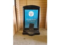 Small Promotional Sign Board, Great Condition. Cheapest Available