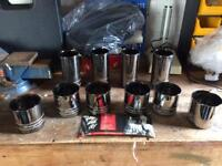 Set of Snap on tumblers
