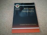 CGP AS-Level Geography Revision Guide - perfect condition