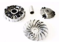 HONDA PCX125 WW125 VARIATOR CLUTCH FACE GEAR DRIVE KIT WITH ROLLERS & SHAFT