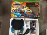 Xb1 skylanders super chargers starter set with 8 figures