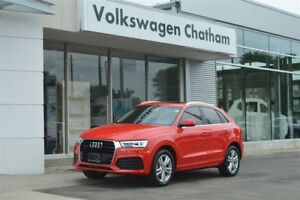 2016 Audi Q3 Technik S-Line quattro Navigation Park Assist