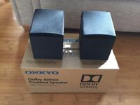 Onkyo dolby Atmos enabled speakers