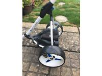 STUNNING S3 MOTOCADDY TROLLEY (free Del 50 miles)