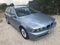 2003 BMW 5 Series Automatic Se Touring Estate Auto Low mileage E39 NEW MOT Aug18 Bluetooth PX swap
