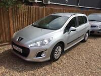 2013 63 REG Peugeot 308 SW estate 1.6HDi Access - £30 tax FINANCE AVAILABLE