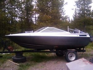 Great boat for cheap 90 hp 16 ft fiberglass boat