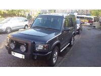 Land Rover Discovery 2 TD5 XS - 7 Seat - Black - Full MOT - Extras