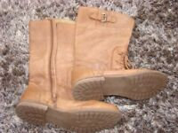 NEXT. Ladies leather boots. Size 5.