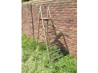 1950/60's Wooden Step Ladder