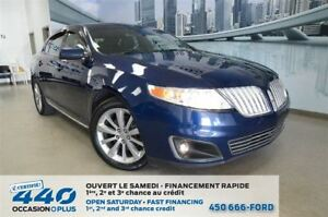 2012 Lincoln MKS | AWD, CUIR, TOIT, NAVIGATION
