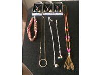 8 Necklaces Designer Costume