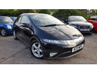 2008 HONDA CIVIC 2.2 I-CTDI VERY LOW MILEAGE,PANORAMIC SUNROOF,EXCELLENT CONDITION