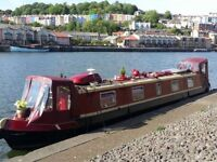 52 foot live-aboard narrowboat, very good paintwork, all mod cons