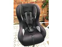 Mothercare car seat booster seat forward and rear facing birth to 4 years