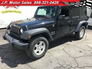 2014 Jeep WRANGLER UNLIMITED Sport, Automatic, 4*4, Only 18,000k