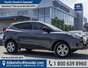 2014 Hyundai Tucson GL ONE OWNER & CERTIFIED ACCIDENT FREE